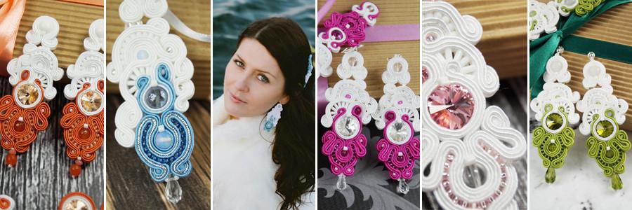 """Kolekcja biżuterii ślubnej sutasz """"Heaven Wedding"""""""